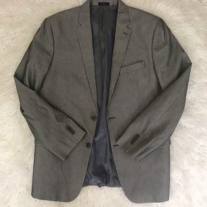 John Varvatos striped cotton blazer size 44R